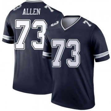 Youth Nike Dallas Cowboys Larry Allen Navy Jersey - Legend