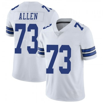 Youth Nike Dallas Cowboys Larry Allen White Vapor Untouchable Jersey - Limited
