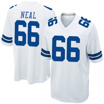 Youth Nike Dallas Cowboys Lewis Neal White Jersey - Game