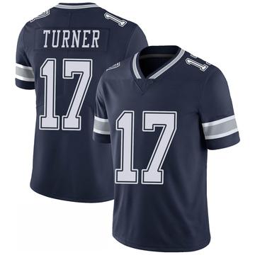 Youth Nike Dallas Cowboys Malik Turner Navy 100th Vapor Jersey - Limited