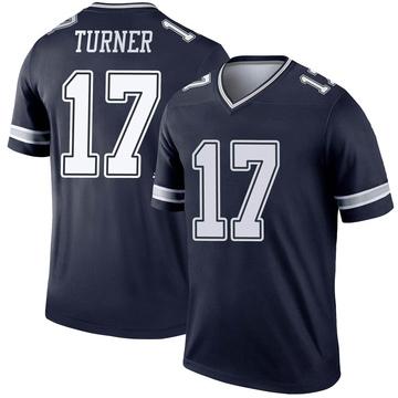 Youth Nike Dallas Cowboys Malik Turner Navy Jersey - Legend
