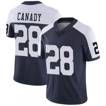 Youth Nike Dallas Cowboys Maurice Canady Navy Alternate Vapor Untouchable Jersey - Limited