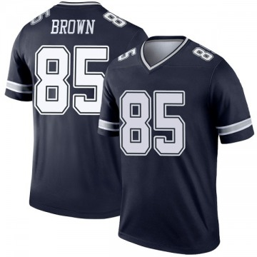 Youth Nike Dallas Cowboys Noah Brown Brown Navy Jersey - Legend