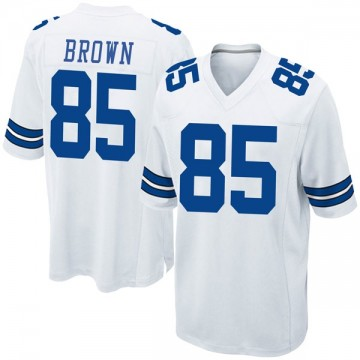 Youth Nike Dallas Cowboys Noah Brown White Jersey - Game