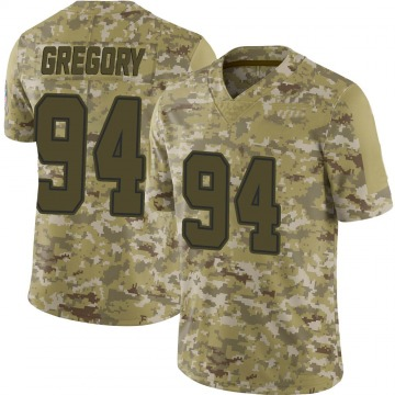Youth Nike Dallas Cowboys Randy Gregory Camo 2018 Salute to Service Jersey - Limited