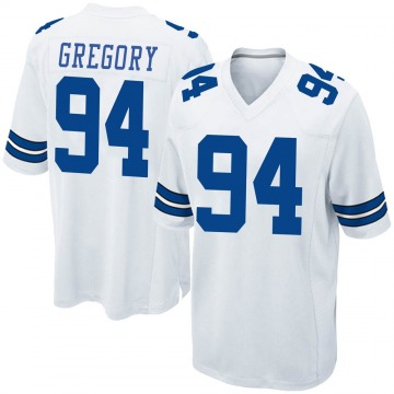 Youth Nike Dallas Cowboys Randy Gregory White Jersey - Game