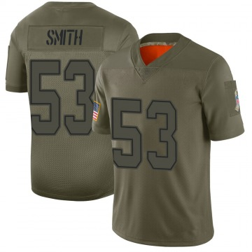 Youth Nike Dallas Cowboys Rashad Smith Camo 2019 Salute to Service Jersey - Limited