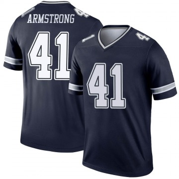 Youth Nike Dallas Cowboys Ray-Ray Armstrong Navy Jersey - Legend
