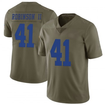 Youth Nike Dallas Cowboys Reggie Robinson II Green 2017 Salute to Service Jersey - Limited