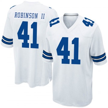 Youth Nike Dallas Cowboys Reggie Robinson II White Jersey - Game
