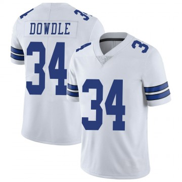 Youth Nike Dallas Cowboys Rico Dowdle White Vapor Untouchable Jersey - Limited