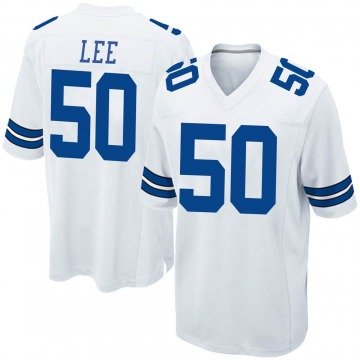 Youth Nike Dallas Cowboys Sean Lee White Jersey - Game