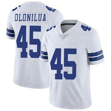 Youth Nike Dallas Cowboys Sewo Olonilua White Vapor Untouchable Jersey - Limited