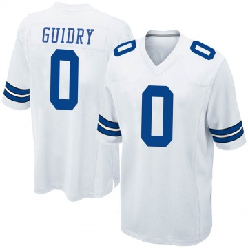 Youth Nike Dallas Cowboys Stephen Guidry White Jersey - Game