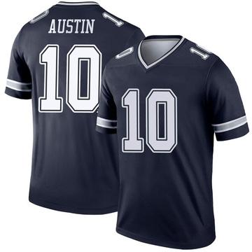 Youth Nike Dallas Cowboys Tavon Austin Navy Jersey - Legend