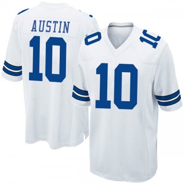 Youth Nike Dallas Cowboys Tavon Austin White Jersey - Game