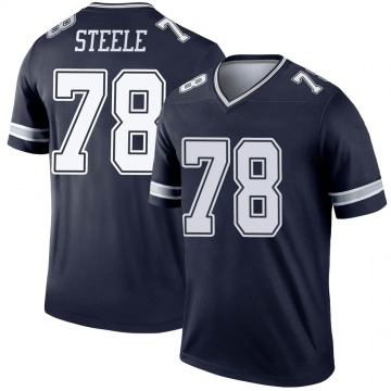 Youth Nike Dallas Cowboys Terence Steele Navy Jersey - Legend