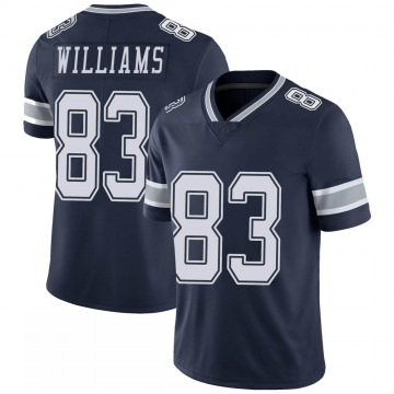 Youth Nike Dallas Cowboys Terrance Williams Navy 100th Vapor Jersey - Limited