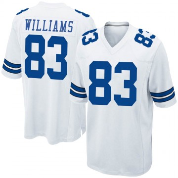 Youth Nike Dallas Cowboys Terrance Williams White Jersey - Game