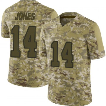 Youth Nike Dallas Cowboys Tevin Jones Camo 2018 Salute to Service Jersey - Limited