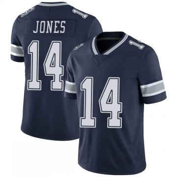Youth Nike Dallas Cowboys Tevin Jones Navy 100th Vapor Jersey - Limited