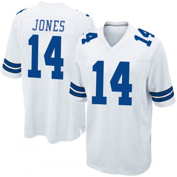 Youth Nike Dallas Cowboys Tevin Jones White Jersey - Game