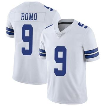 Youth Nike Dallas Cowboys Tony Romo White Vapor Untouchable Jersey - Limited