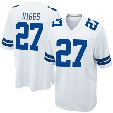 Youth Nike Dallas Cowboys Trevon Diggs White Jersey - Game