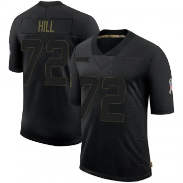 Youth Nike Dallas Cowboys Trysten Hill Black 2020 Salute To Service Jersey - Limited