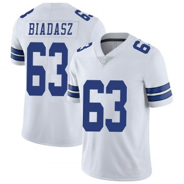 Youth Nike Dallas Cowboys Tyler Biadasz White Vapor Untouchable Jersey - Limited
