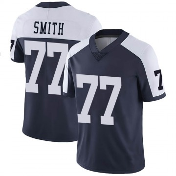 Youth Nike Dallas Cowboys Tyron Smith Navy Alternate Vapor Untouchable Jersey - Limited