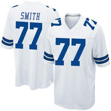 Youth Nike Dallas Cowboys Tyron Smith White Jersey - Game