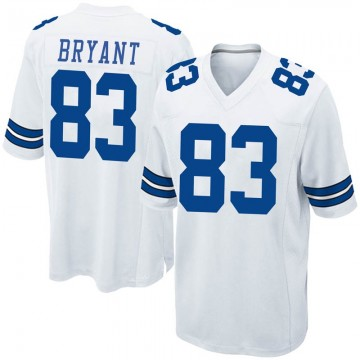 Youth Nike Dallas Cowboys Ventell Bryant White Jersey - Game