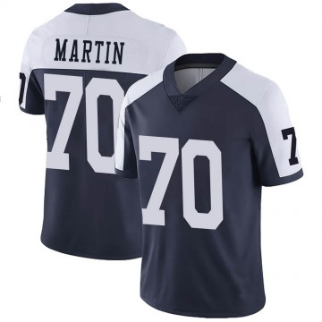 Youth Nike Dallas Cowboys Zack Martin Navy Alternate Vapor Untouchable Jersey - Limited