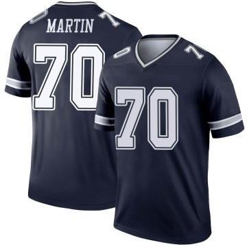 Youth Nike Dallas Cowboys Zack Martin Navy Jersey - Legend