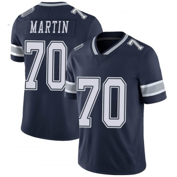 Youth Nike Dallas Cowboys Zack Martin Navy Team Color Vapor Untouchable Jersey - Limited